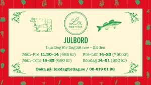 Liggande julbord 2019 tredje variant