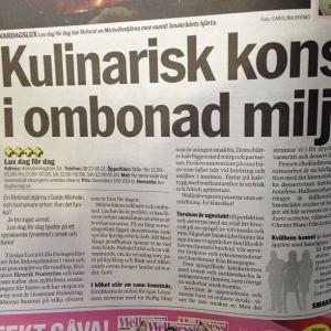 Aftonbladet idag, riktigt kul. #luxdagfordag