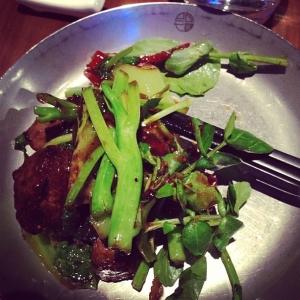 Kvällens middag, Black pepper beef på Eat, så gott, jag har längtat#eatrestaurant