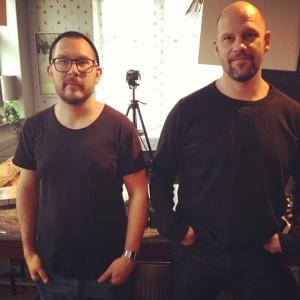 Dubbel fotograf på Lux idag, Morgan & Fredrik, tog matbilder för tidningen HOOM