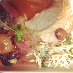 Sörmländsk Vildsvinsfilé med selleri-& äppelslaw, rostad selleri och ingefära#meny#luxdagfordag