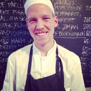 Så här glad blev vår Göran när han fick veta att han gick till final i årets unga kock#luxdagfordag