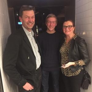 Ikväll gästades vi Per Vidlund med familj som fiskar bla vår härliga gös från Ängsö! #luxdagfördag #rigormortis #gös