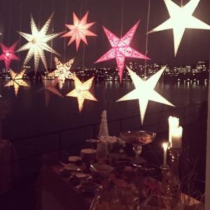 Julbord by night. #lux #luxdagfordag #luxdagfördag #jul #julbord