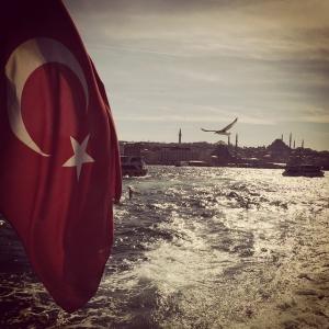 Vacker vy från dagens båtutflykt. #istanbul #båt #litehongkongkänsla #turkiet