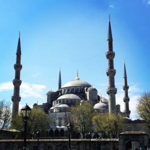 Blå moskén #istanbul #moské