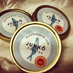 """Sista """"pusselbiten"""" till Farmers Dinner den 21 maj på @luxdagfordag Trygve Bergman 72 år """"löjroms kungen"""" som drivit igenom ursprungsmärkningen för Kalix löjrom kommer till Lux DfD tillsammans med Lars Ökvist från Junköfiskarna i Luleå."""