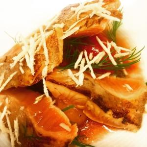 Lättrökt, spishalstrad röding med vikentomat var en av kvällens favoriter.. #luxdagfördag #smoke #pepparrot