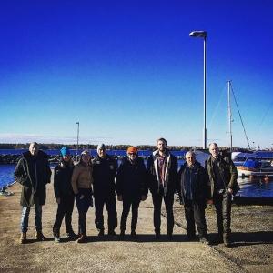 Vi tackar Tryggve, Lars, Per, Ulrika, Jon och alla andra för en härlig vistelse #luxdagfördag #unikråvara #siklöjafiske #löjrom