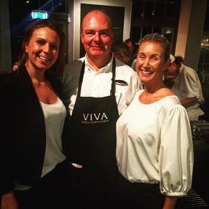 Under kvällens farmers dinner frontar vi även servissidan med representanter som Jeanette Linder, årets servitör 2015, Magnus Sjöstedt från Viva och Mikaela Boson, årets servitör #farmersdinner #farmtotable