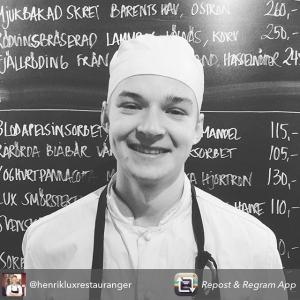 Stort grattis Emil till finalplatsen i Årets unga kock, ensam Stockholmare i finalen. Heja Emil! #luxdagfördag #åuk #åretsungakock