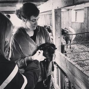 Den 20 april är årets första Farmers Dinner. Dagens besök var hos Elin på Lovö Prästgård gav oss insikt över hennes lamm, kor, höns mm.. #farmtotable #luxdagfördag #lamm #farmersdinner #råmjölk