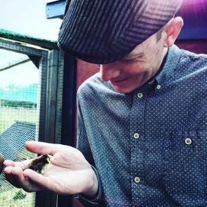 """Skulle bara hämta honung till @luxdagfordag Helt omöjlighet att låta bli att """"morsa"""" på vaktlarna! #farmlife #luxdagfördag #livetpålandet #farmtotable #farmersmarket #cheflife"""