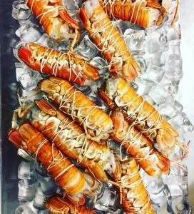 Burfångad havskräfta på menyn ikväll, begränsat antal så först till kvarn! #luxdagfördag #västkusten #härligråvara #vardagslux