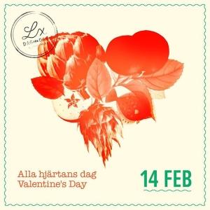 Se vår härliga Alla hjärtans-meny på vår hemsida under MENY #meny #luxdagfordag #allahjärtansdag #valentines #14feb